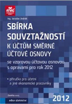 Obrázok Sbírka souvztažností k účtům směrné účtové osnovy 2012