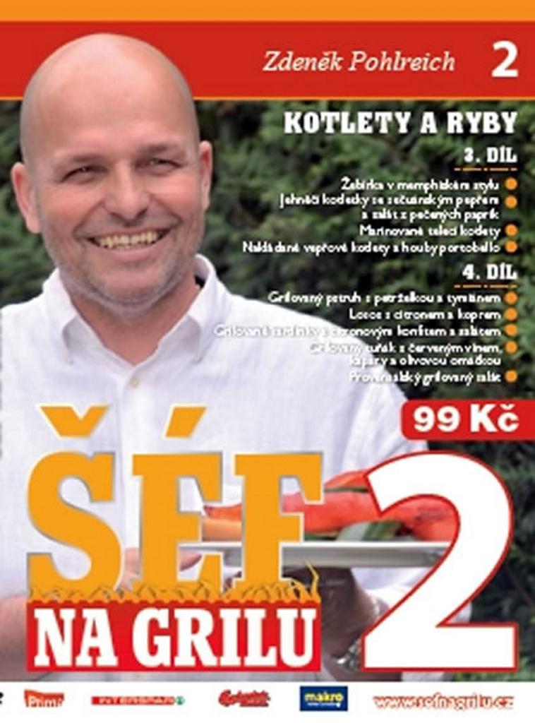 Šéf na grilu 2 - Zdeněk Pohlreich