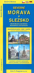 Obrázok Severní Morava a Slezko - regionální mapa