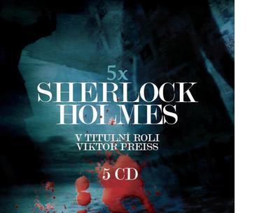 Obrázok Sherlock Holmes 5 CD