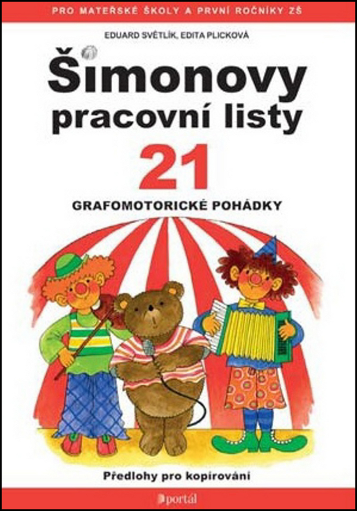 Šimonovy pracovní listy 21 - Edita Plicková, Eduard Světlík