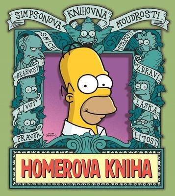 Obrázok Simpsonova knihovna moudrosti Homerova kniha
