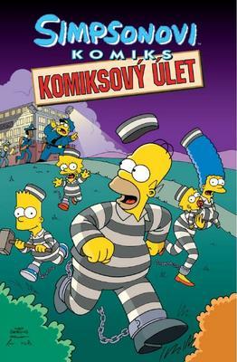 Obrázok Simpsonovi Komiksový úlet
