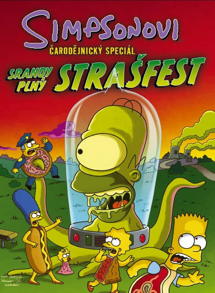 Simpsonovi Srandy plný strašfest