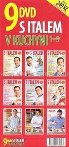 Obrázok S Italem v kuchyni 9 DVD Sada 1- 9