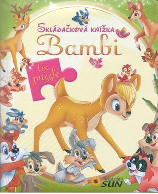 Obrázok Skládačková knížka Bambi