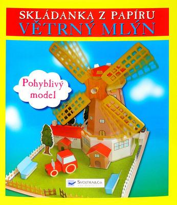 Obrázok Skládanka z papíru Větrný mlýn
