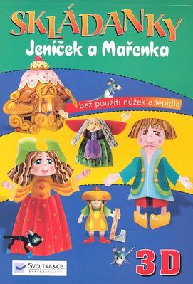 Obrázok Skládanky Jeníček a Mařenka 3D