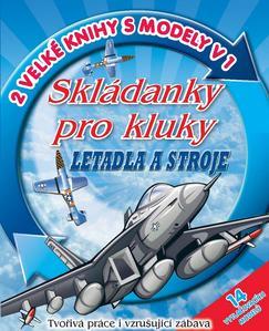 Obrázok Skládanky pro kluky Letadla a stroje