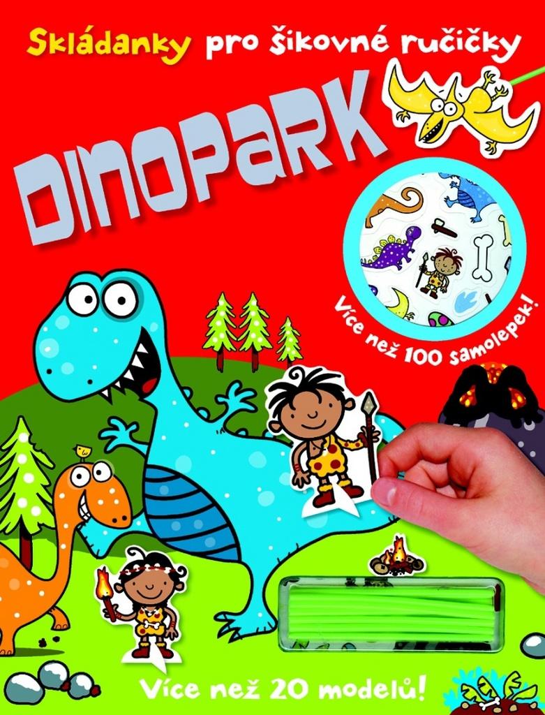 Skládanky pro šikovné ručičky Dinopark