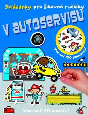 Obrázok Skládanky pro šikovné ručičky V autoservisu
