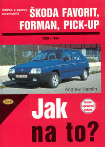 Obrázok Škoda Favorit, Forman, Pick-up 1989 - 1994