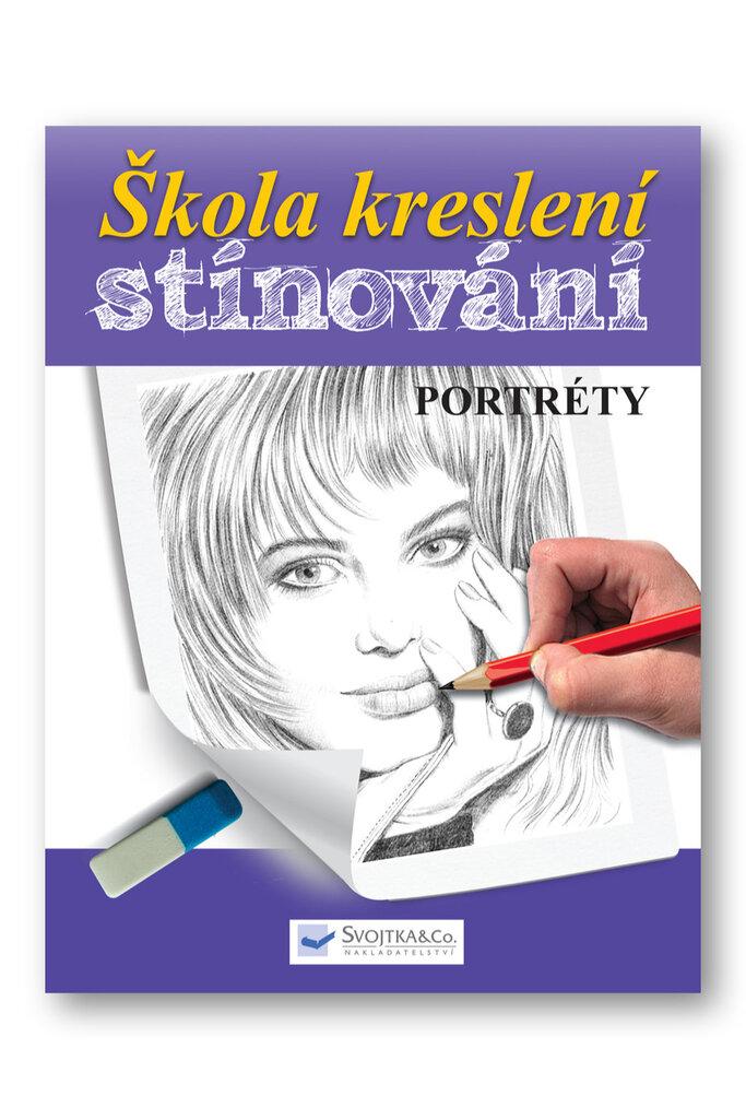 Škola kreslení, stínování - portréty