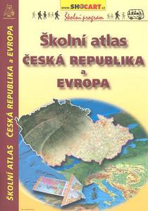 Školní atlas Česká republika a Evropa