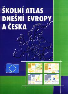 Obrázok Školní atlas dnešní Evropy a Česka