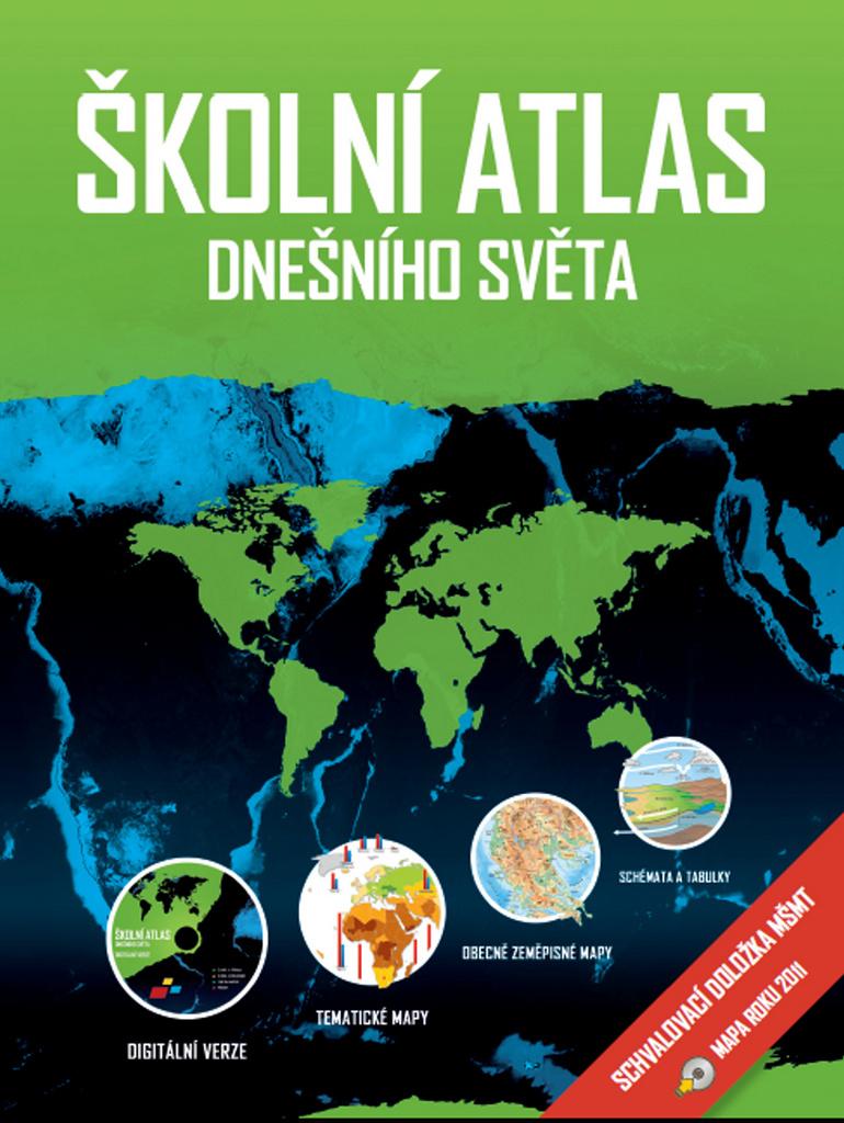 Školní atlas dnešního světa