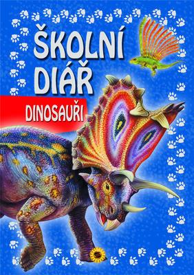 Obrázok Školní diář Dinosauři