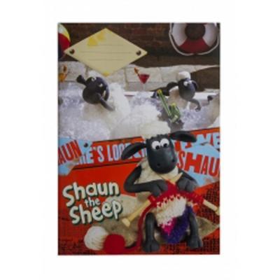 Obrázok Školní sešit Ovečka Shaun A4, 40 listů čtverečkovaný