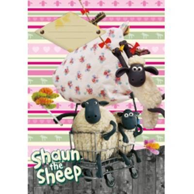 Obrázok Školní sešit Ovečka Shaun A4, 40 listů linkovaný