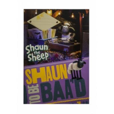 Obrázok Školní sešit Ovečka Shaun A4, 40 listů nelinkovaný