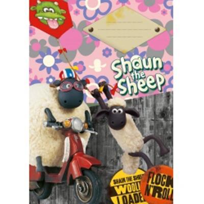 Obrázok Školní sešit Ovečka Shaun A5, 20 listů nelinkovaný