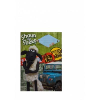 Obrázok Školní sešit Ovečka Shaun A5, 40 listů linkovaný
