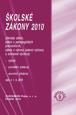 Obrázok Školské zákony 2010