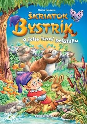 Obrázok Škriatok Bystrík a jeho lesní priatelia
