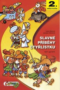 Obrázok Slavné příběhy Čtyřlístku (2.velká kniha)