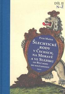 Obrázok Šlechtické rody v Čechách, na Moravě a ve Slezsku II.díl N-Ž