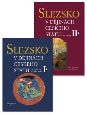 Obrázok Slezsko v dějinách českého státu (1. a 2. díl)