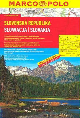 Obrázok Slovenská republika 1:300 000