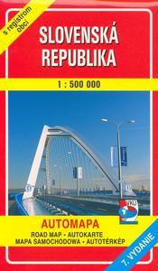 Obrázok Slovenská republika 1 : 500 000