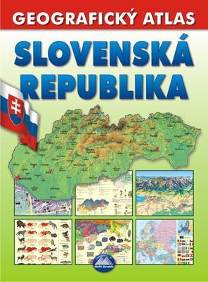 Obrázok Slovenská republika Geografický atlas