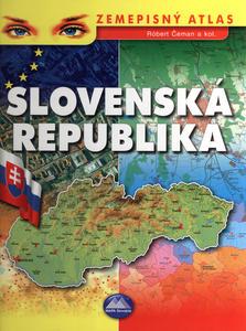 Obrázok Slovenská Republika Zemepisný atlas