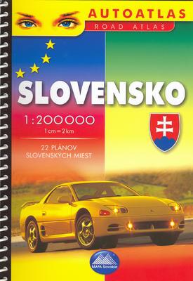 Obrázok Slovensko 1 : 200 000
