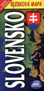 Obrázok Slovensko 1:620 000