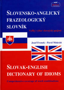 Obrázok Slovensko-Anglický frazeologický slovník Slovak-English dictionary of idioms