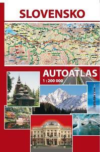 Obrázok Slovensko Autoatlas 1 : 200 000