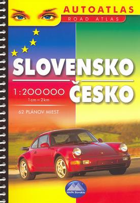 Obrázok Slovensko Česko 1 : 200 000