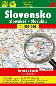 Obrázok Slovensko Slowakei Slovakia 1:500 000
