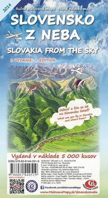 Obrázok Slovensko z neba Slovakia from the sky