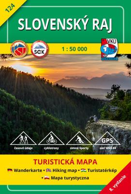 Obrázok Slovenský raj 1 : 50 000