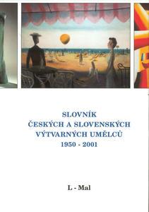 Obrázok Slovník českých a slovenských výtvarných umělců 1950 - 2001  L-Mal