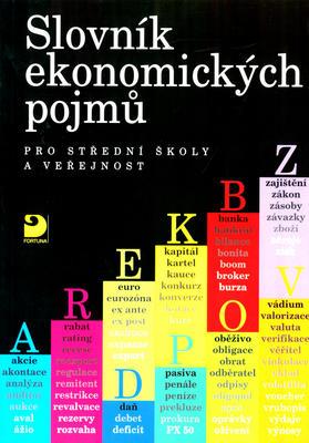 Obrázok Slovník ekonomických pojmů pro SŠ a veřejnost