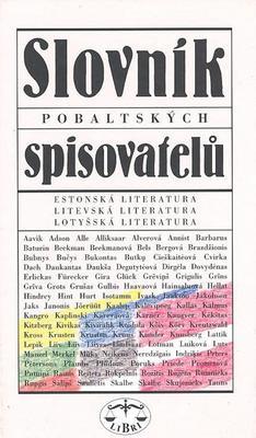 Obrázok Slovník pobaltských spisovatelů