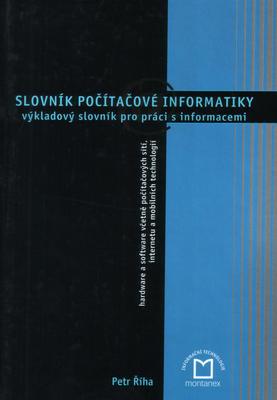 Obrázok Slovník počítačové informatiky
