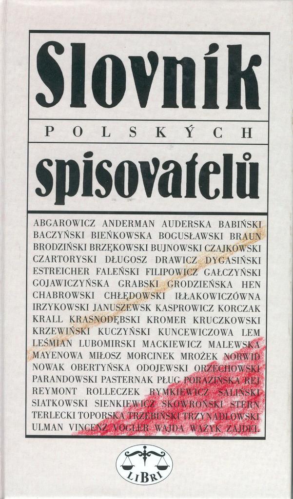 Slovník polských spisovatelů - Ludvík Štěpán