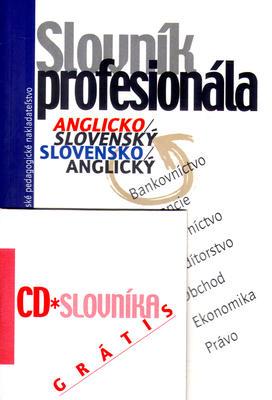 Obrázok Slovník profesionála anglicko - slovenský a slovensko - anlgický + CD