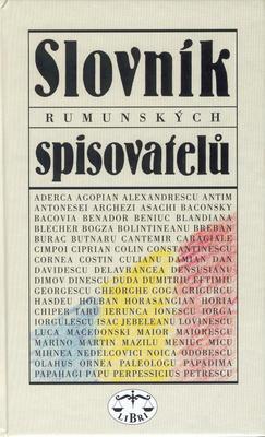 Obrázok Slovník rumunských spisovatelů